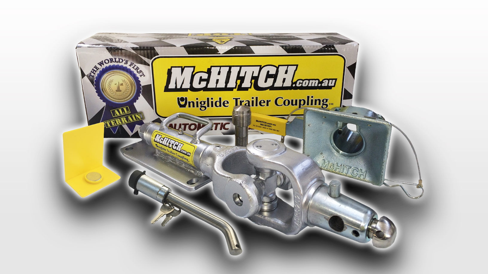 McHitch AUBOW2 Automatic Uniglide Camper Trailer Coupling