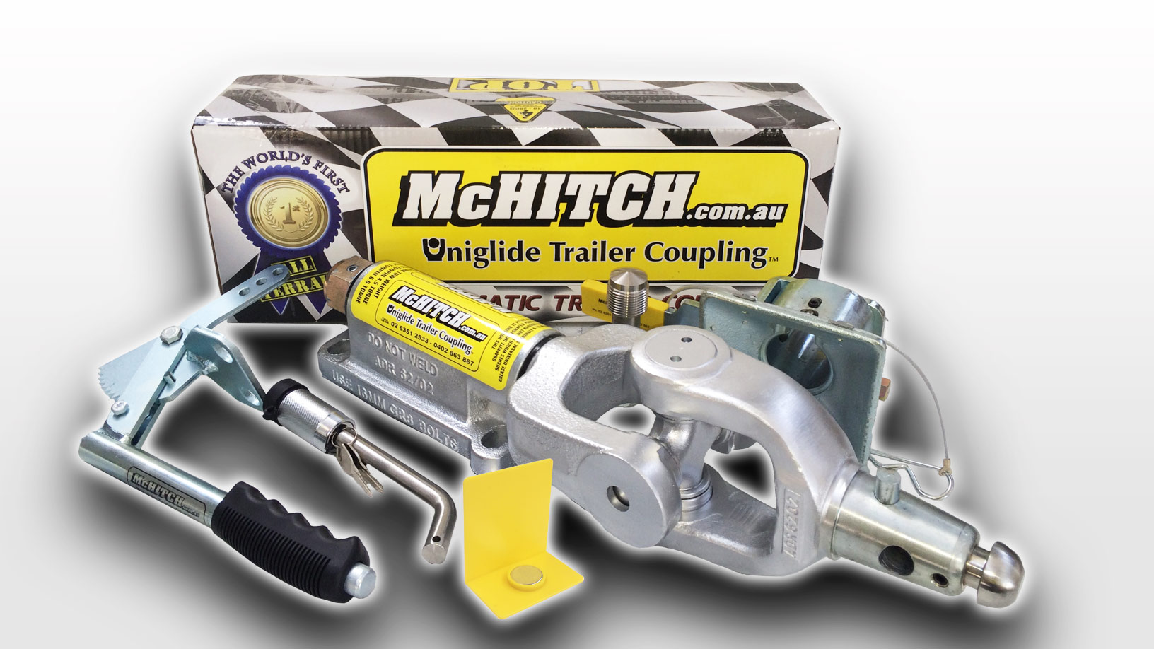 McHitch AUEF45K Automatic Tow Coupling