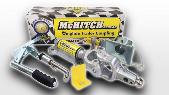 McHitch AUEF35K Easy Fit Caravan Automatic Tow Coupling